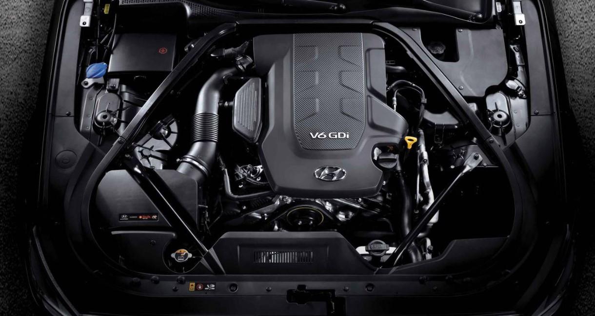 2020 Hyundai Equus Engine