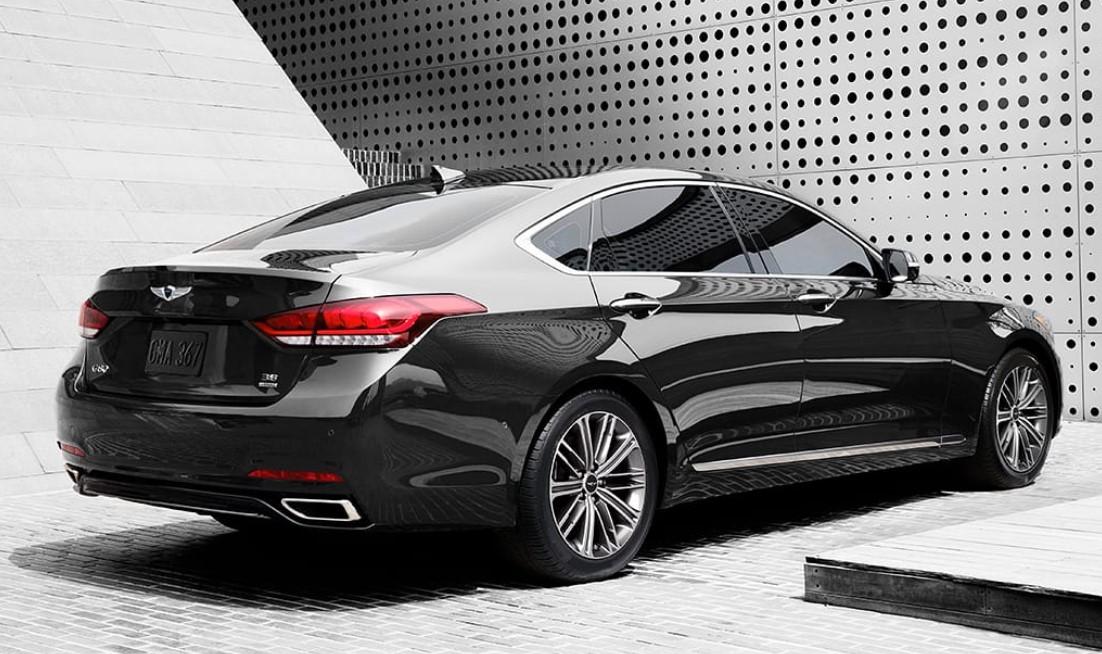 2020 Hyundai Genesis Engine