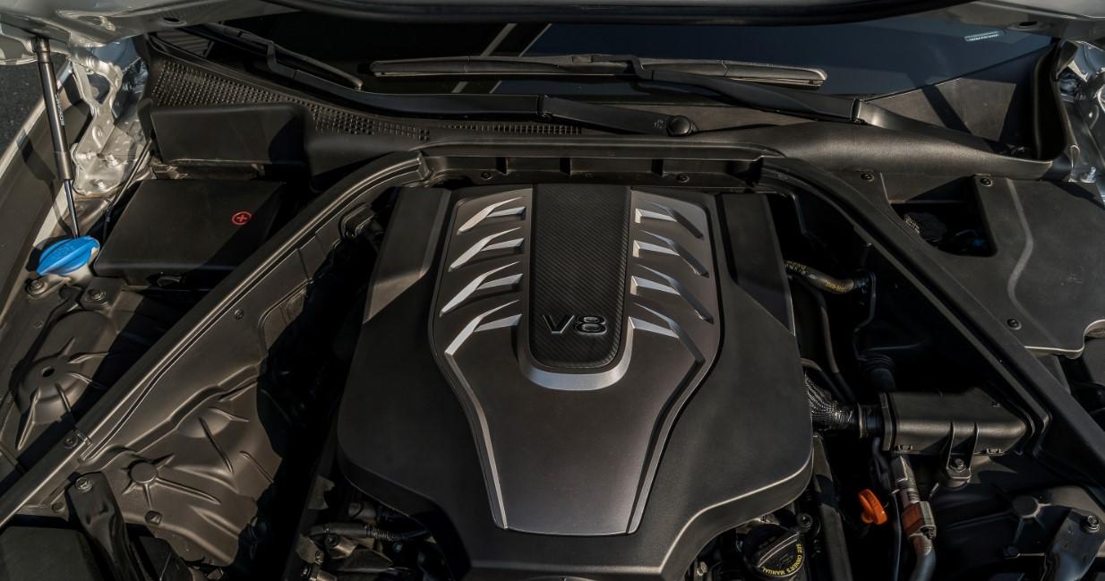 2020 Hyundai Genesis G80 Engine
