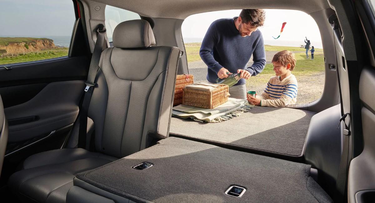 2020 Hyundai Santa Fe Interior