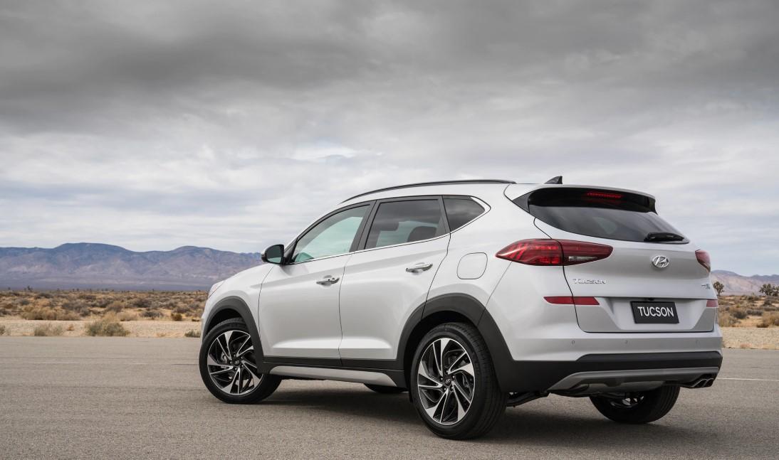 2020 Hyundai Tucson Sport Engine