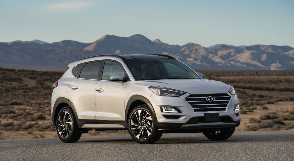 2020 Hyundai Tucson Sport Exterior