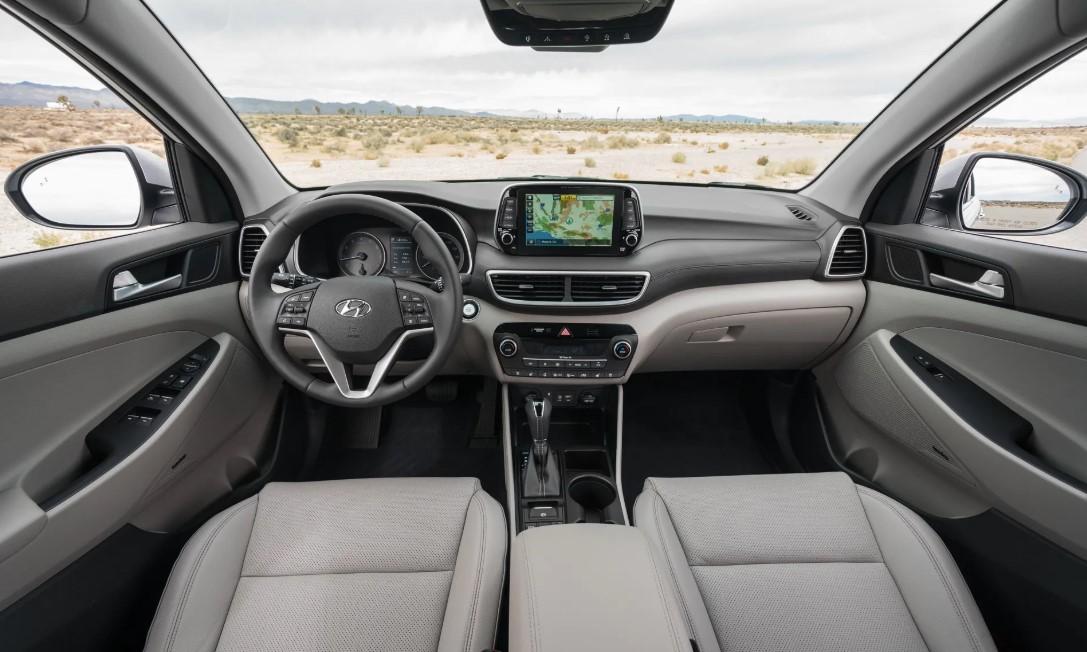 2020 Hyundai Tucson Sport Interior