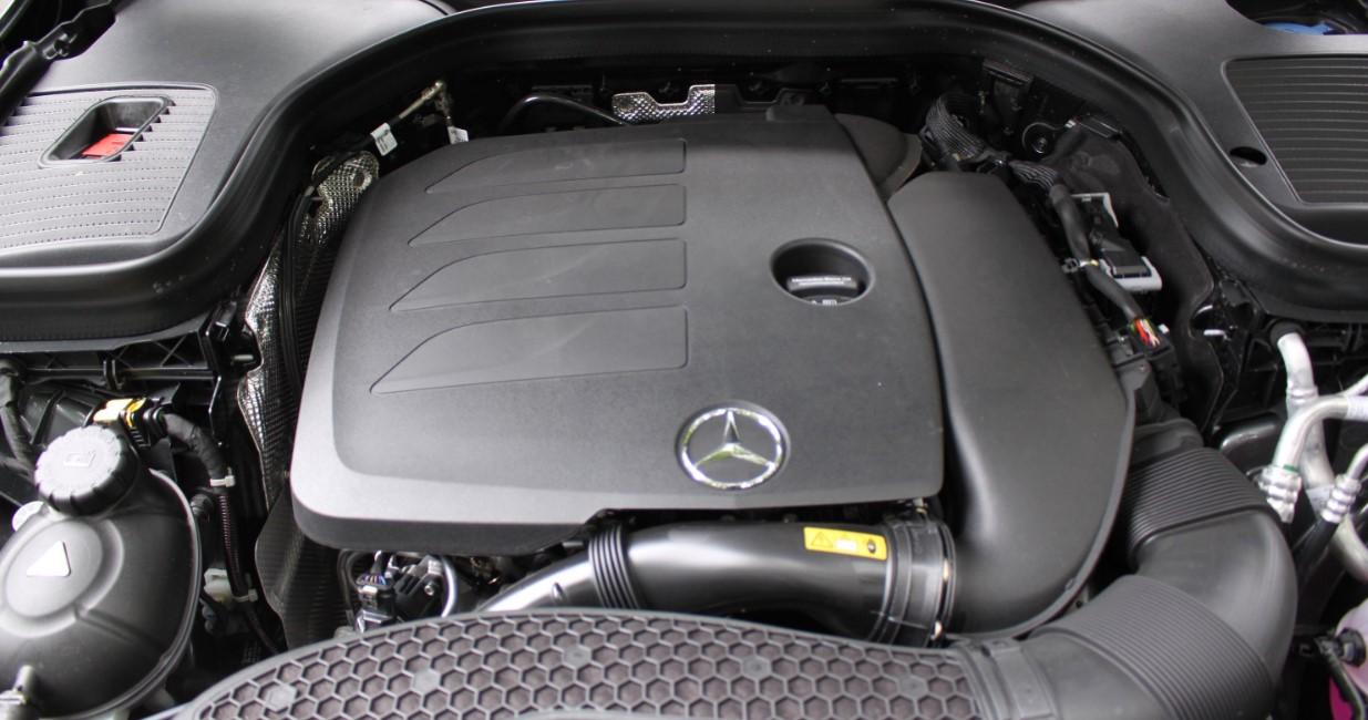 2020 Mercedes Benz GLC 300 Engine
