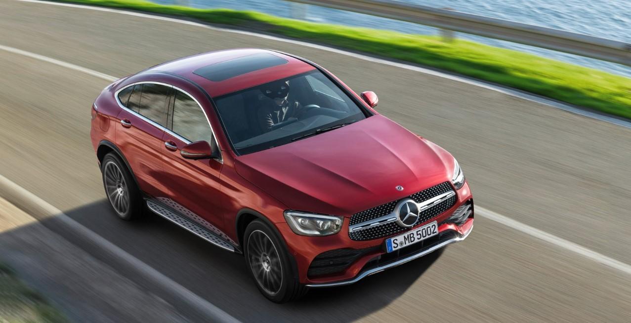 2020 Mercedes GLC Coupe Exterior