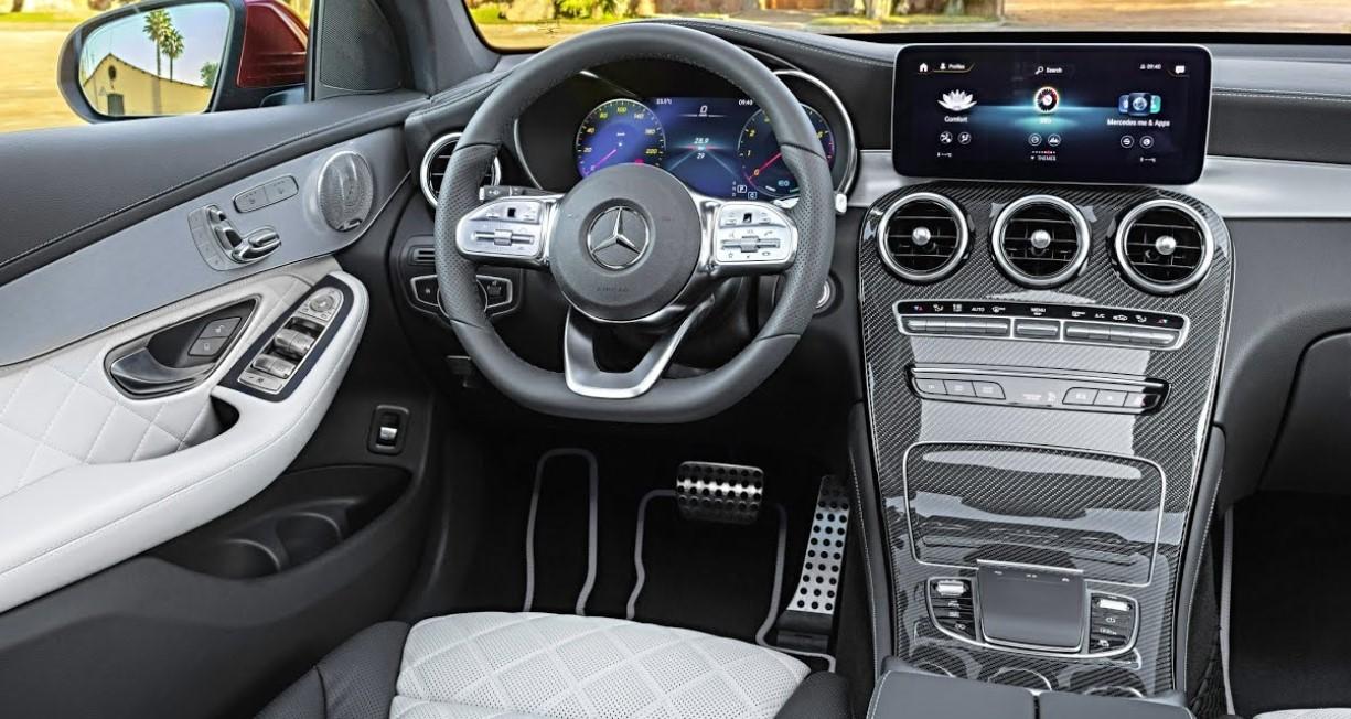 2020 Mercedes GLC Coupe Interior
