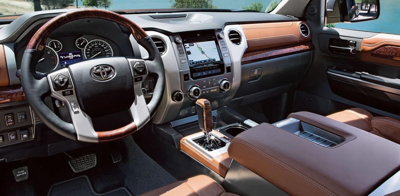 2020 Toyota Diesel Interior