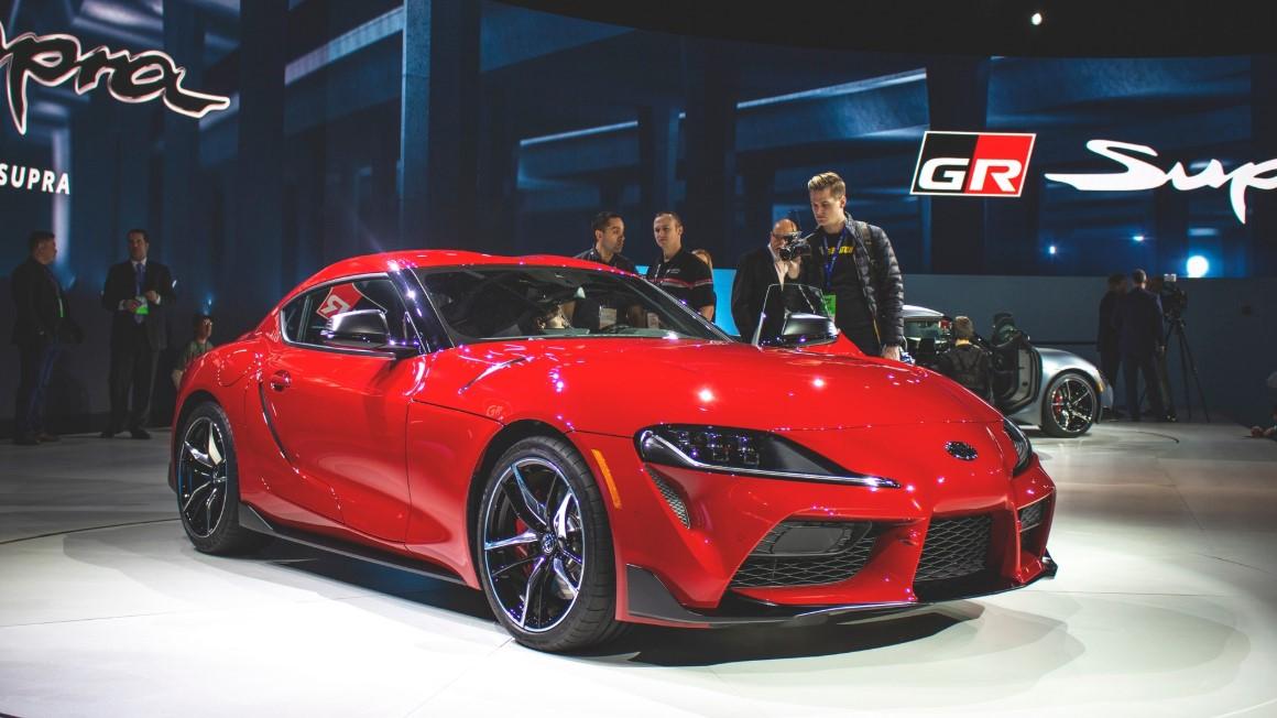 2020 Toyota GR Supra Exterior