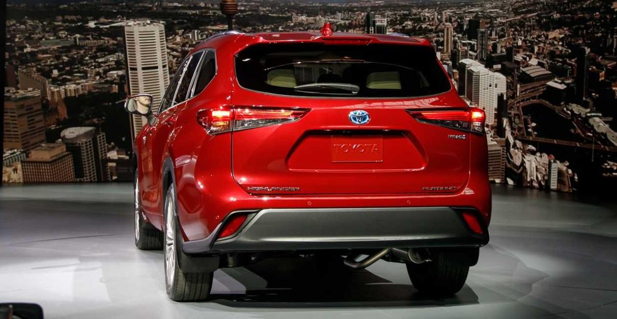 2020 Toyota Highlander Hybrid Engine