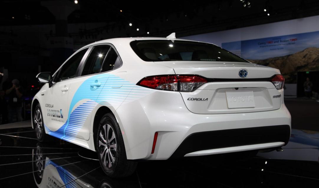2020 Toyota Hybrid Engine