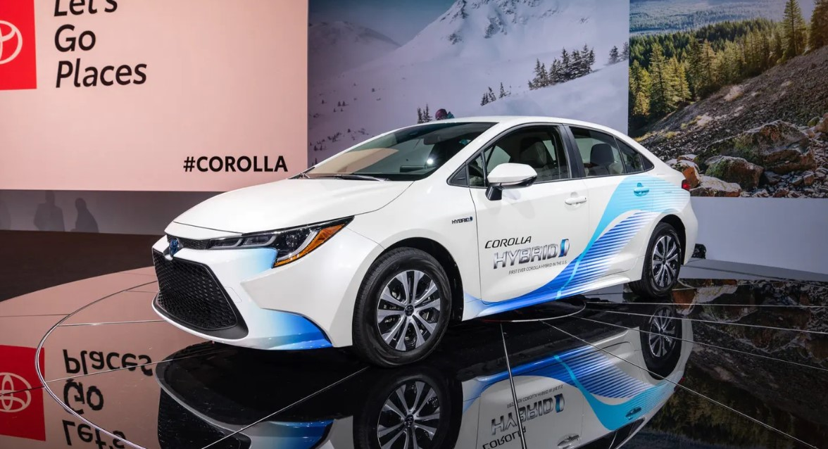 2020 Toyota Hybrid Exterior