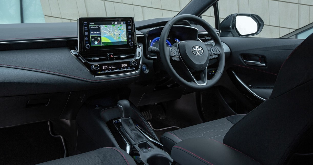2020 Toyota Hybrid Interior