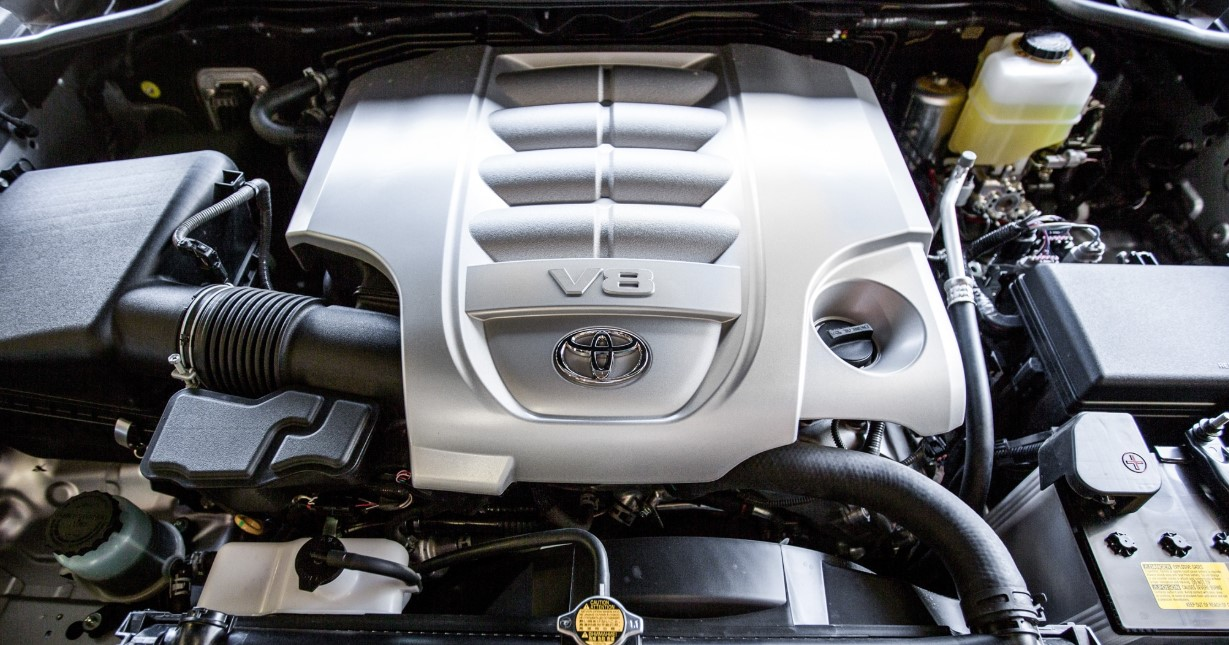 2020 Toyota Land Cruiser 200 Engine