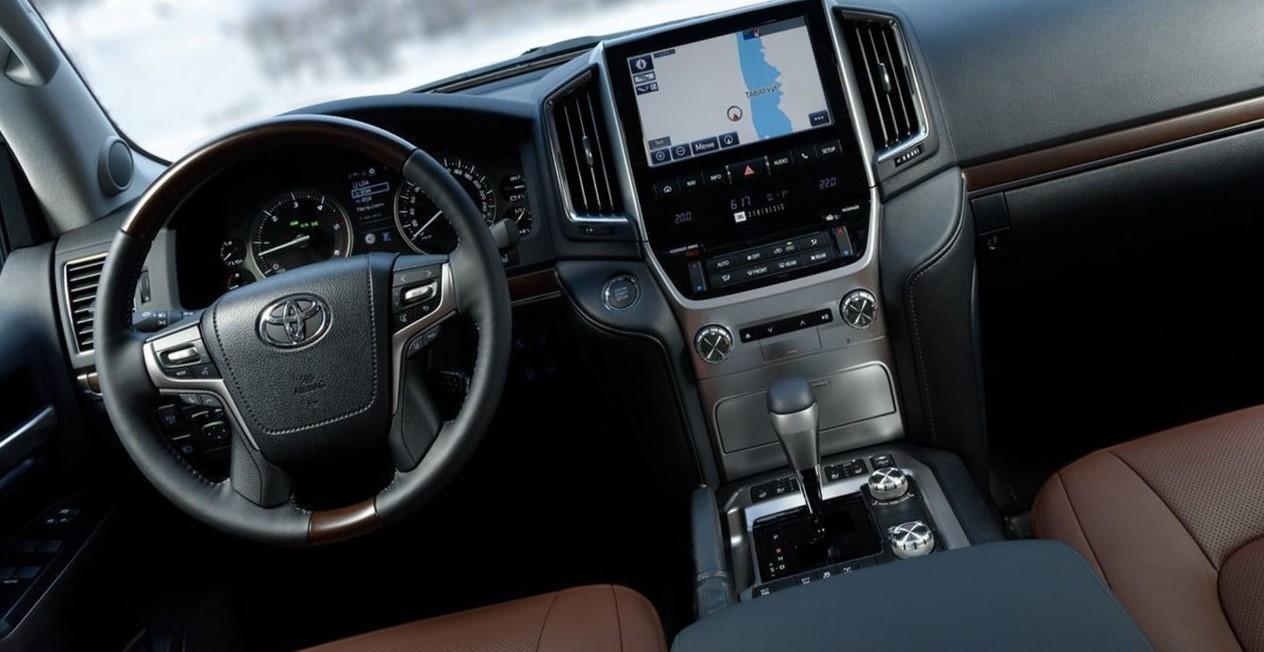 2020 Toyota Land Cruiser 200 Interior