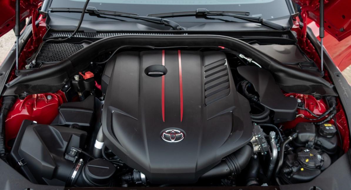 2020 Toyota Supra Engine