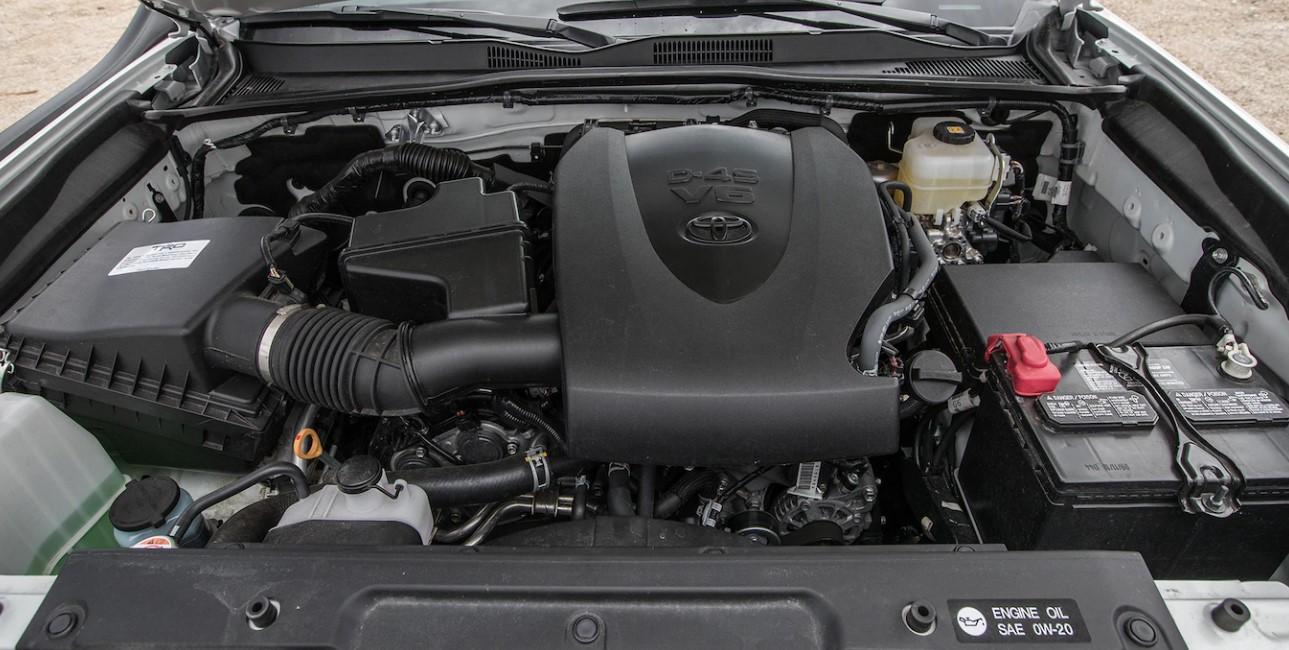2020 Toyota TRD Pro Engine