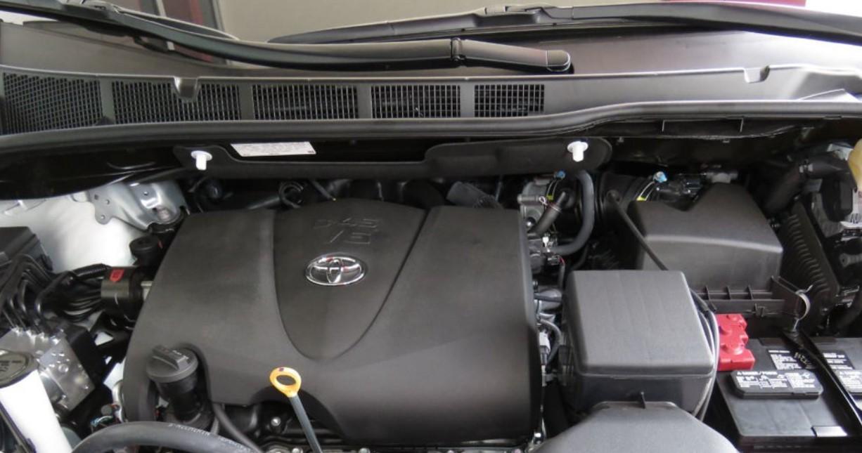 2020 Toyota Van Engine