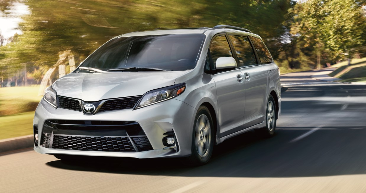 2020 Toyota Van Exterior