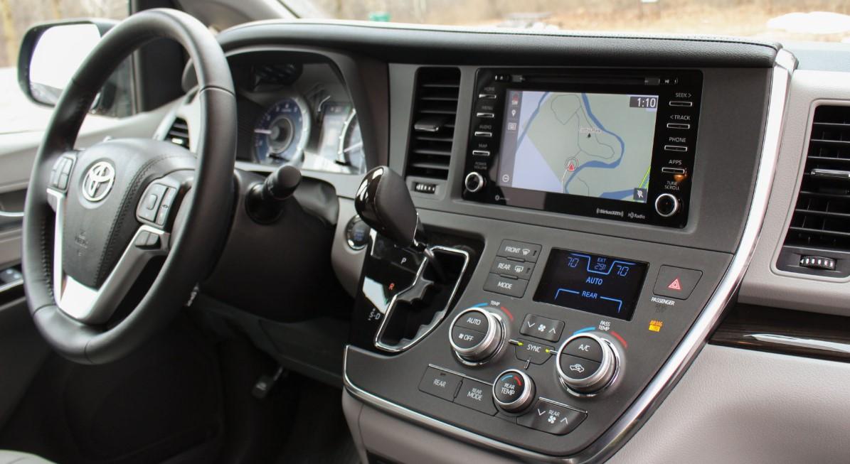 2020 Toyota Van Interior