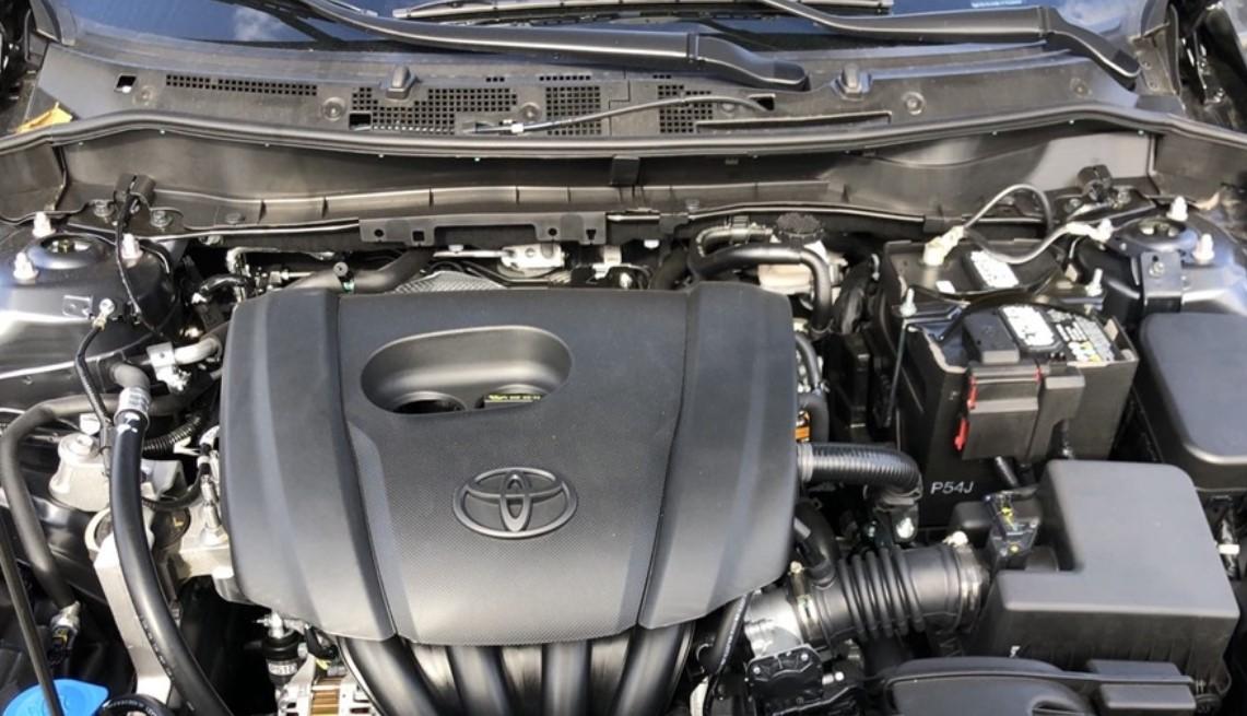 2020 Toyota Yaris Adventure Engine