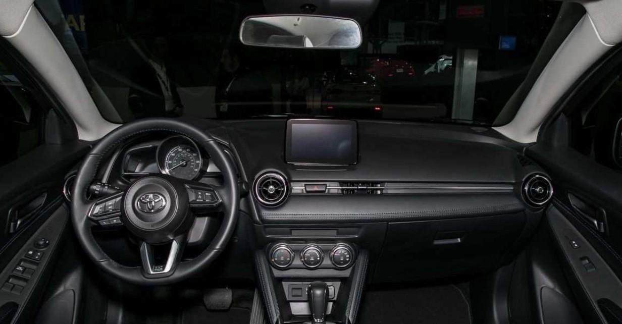 2020 Toyota Yaris Adventure Interior
