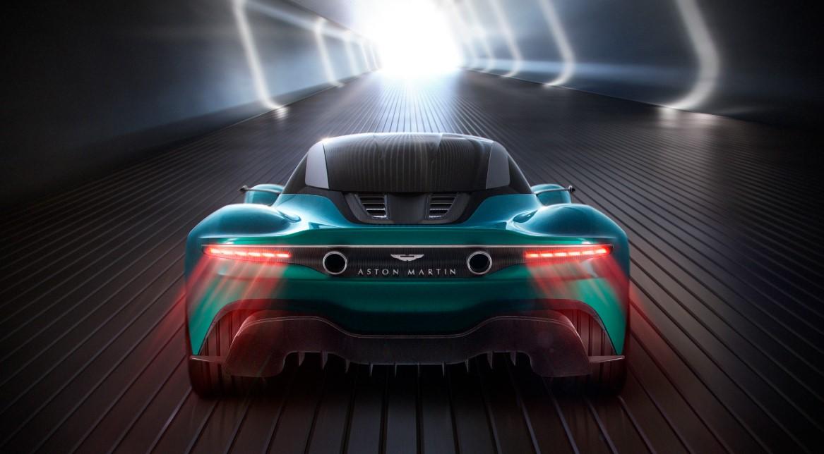 2021 Aston Martin Vanquish Engine