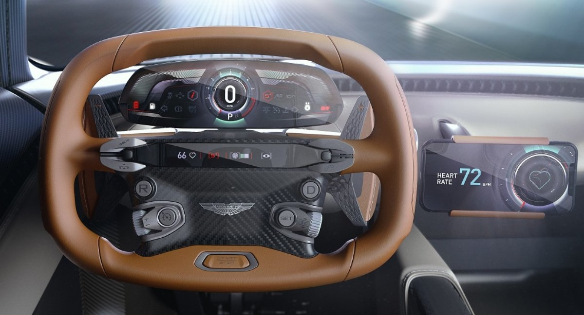 2021 Aston Martin Vanquish Interior