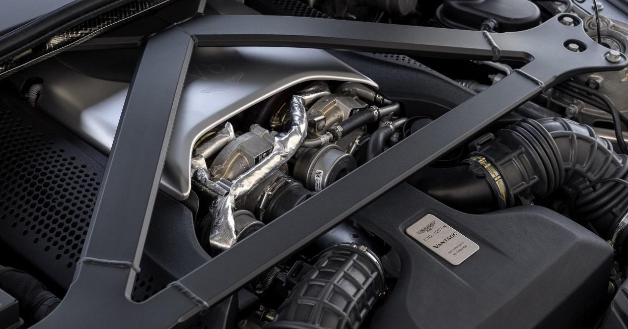 2021 Aston Martin Vantage Engine