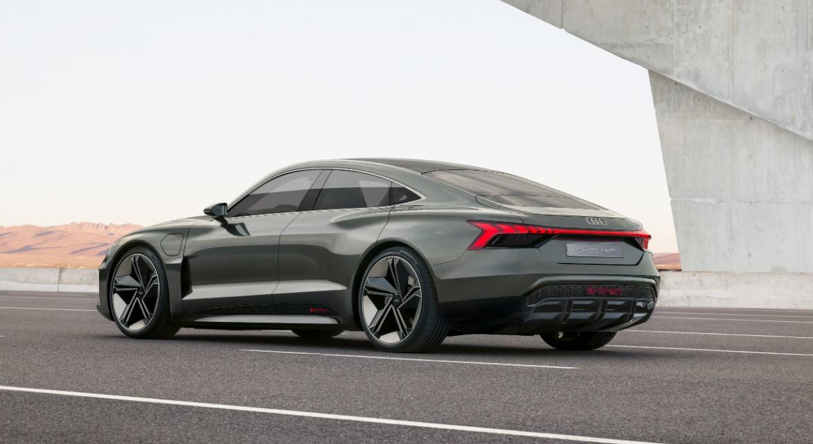 2021 Audi E-Tron GT Engine