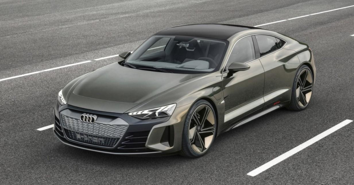 2021 Audi E-Tron GT Exterior