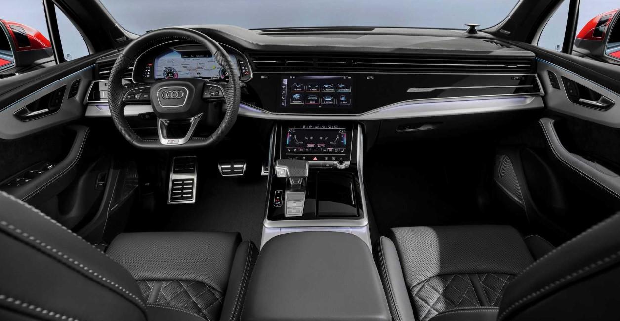 2021 Audi SUV Interior