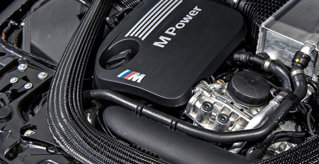 2021 BMW M4 Engine