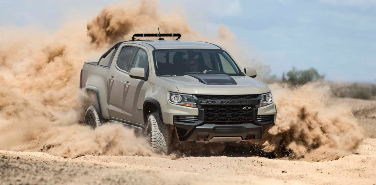 2021 Chevrolet Colorado ZR2 Exterior