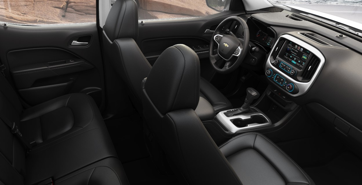 2021 Chevrolet Colorado ZR2 Interior