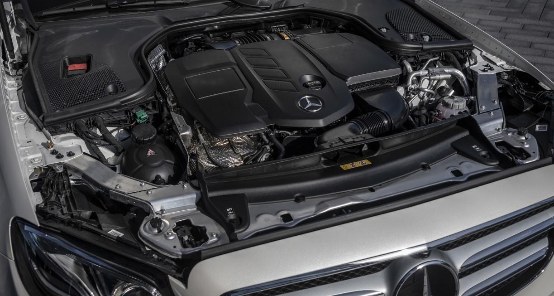 2021 E Class Mercedes Engine