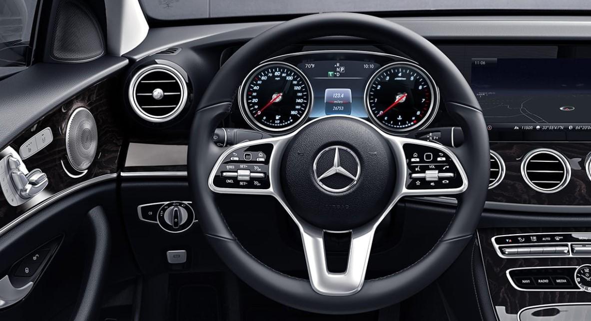 2021 E Class Mercedes Interior