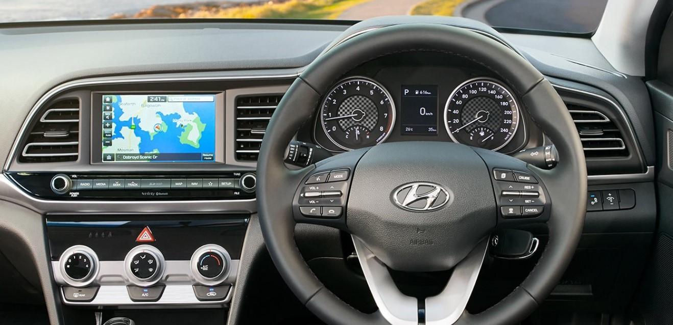 2021 Hyundai Avante Interior