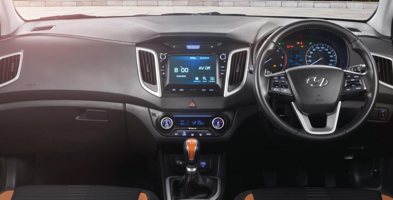2021 Hyundai Creta Interior