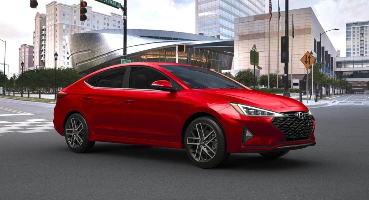 2021 Hyundai Elantra Sport Exterior