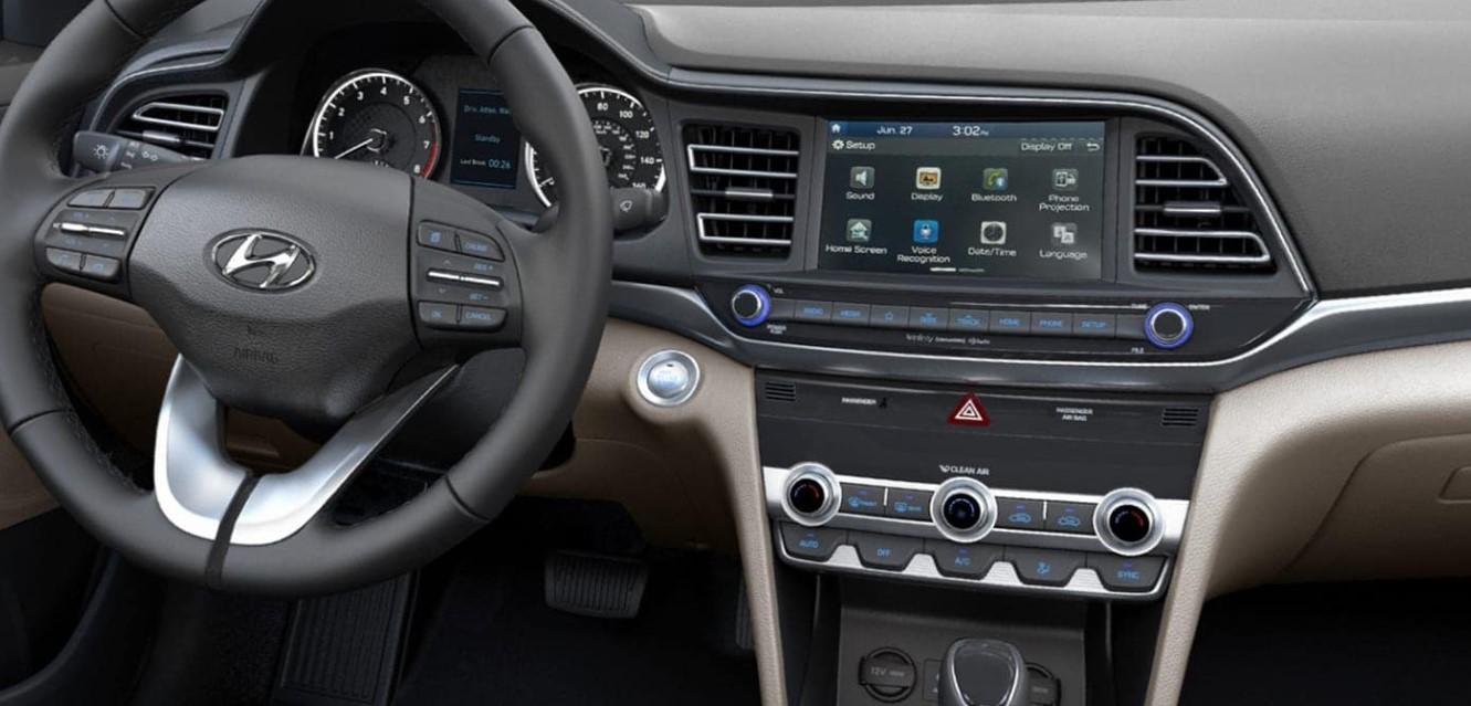 2021 Hyundai Elantra Sport Interior