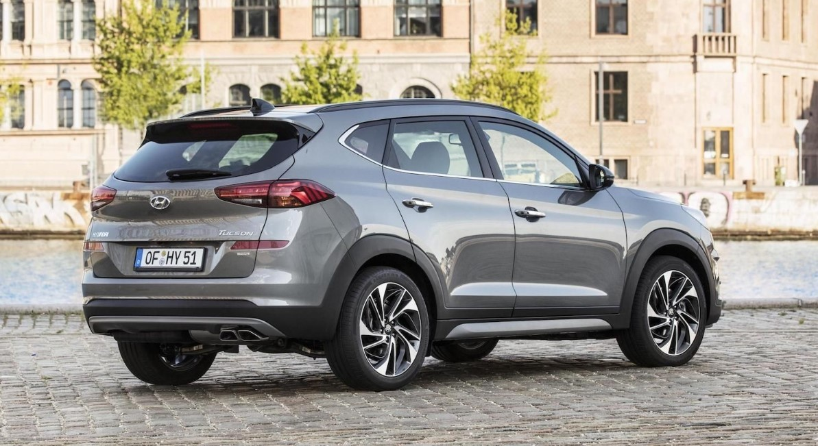 2021 Hyundai Tucson Engine