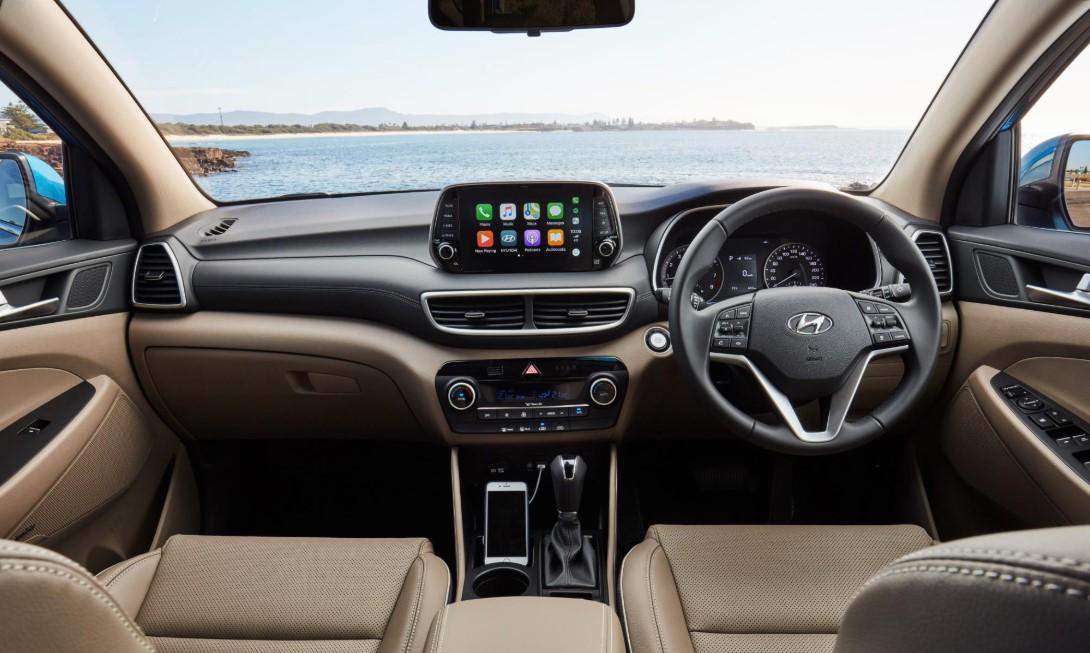 2021 Hyundai Tucson Interior