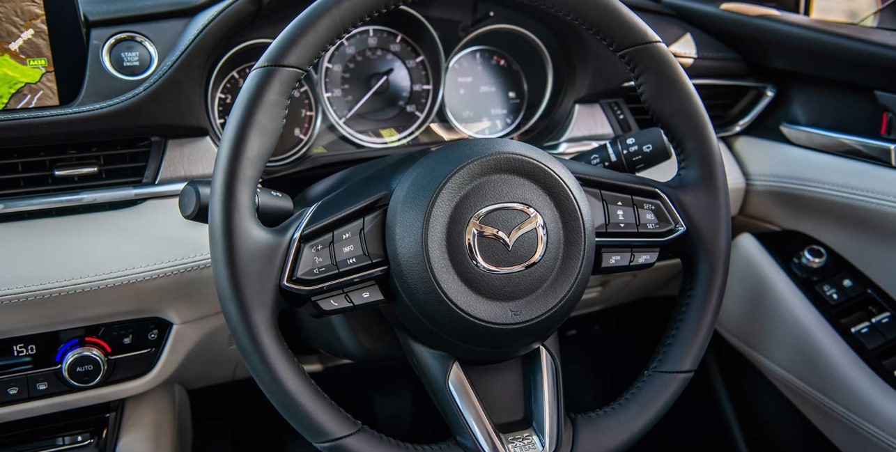 2021 Mazda 6 Wagon Interior