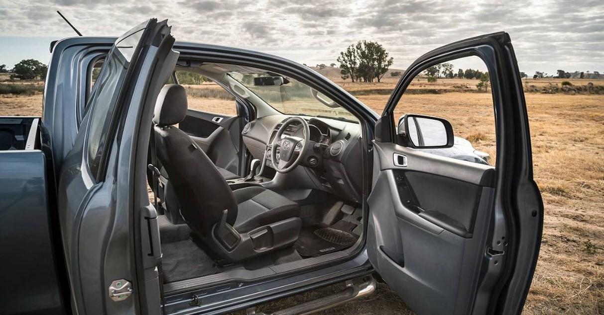 2021 Mazda BT 50 Interior