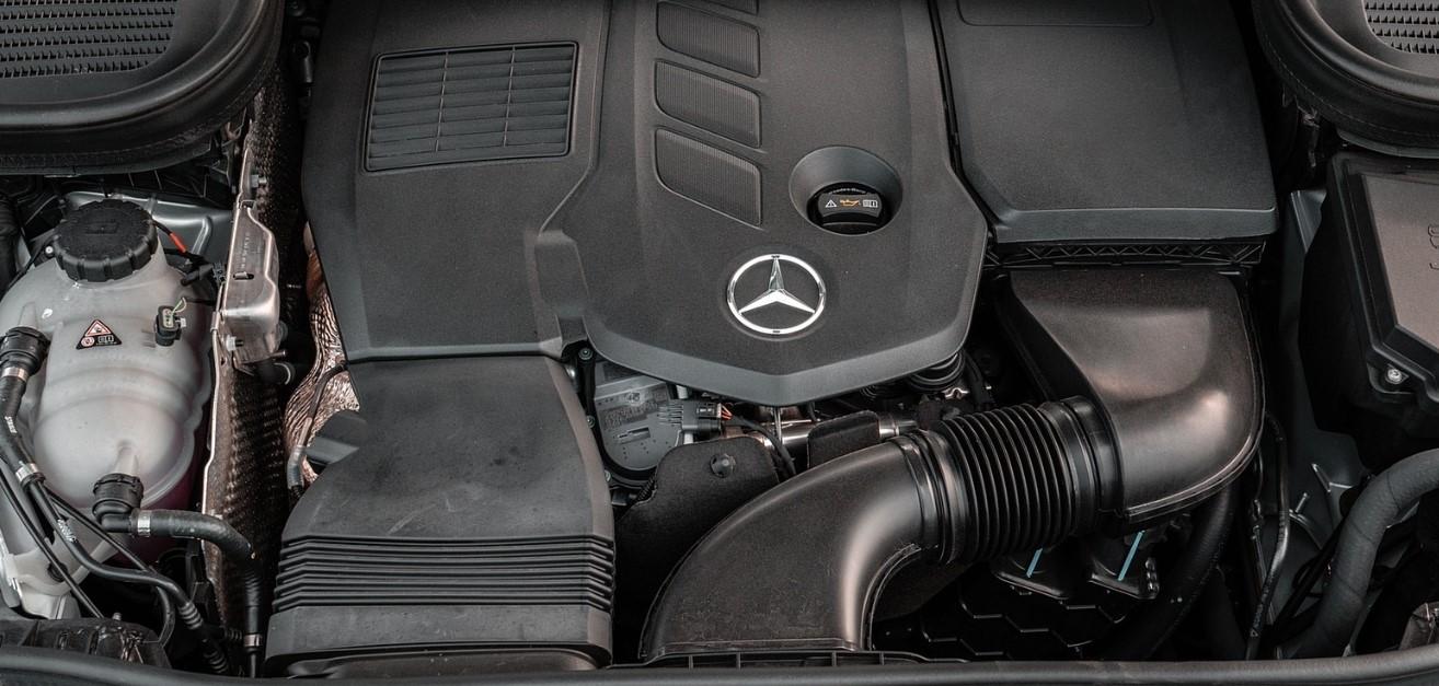 2021 Mercedes AMG GLE Engine