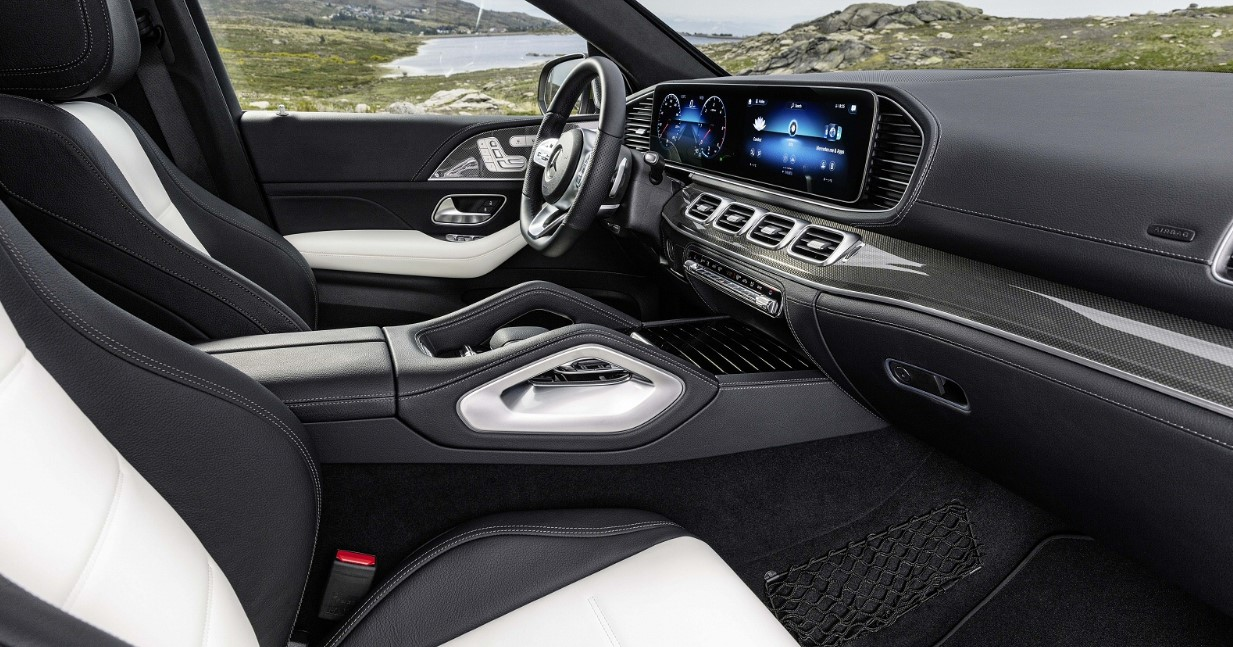 2021 Mercedes AMG GLE Interior