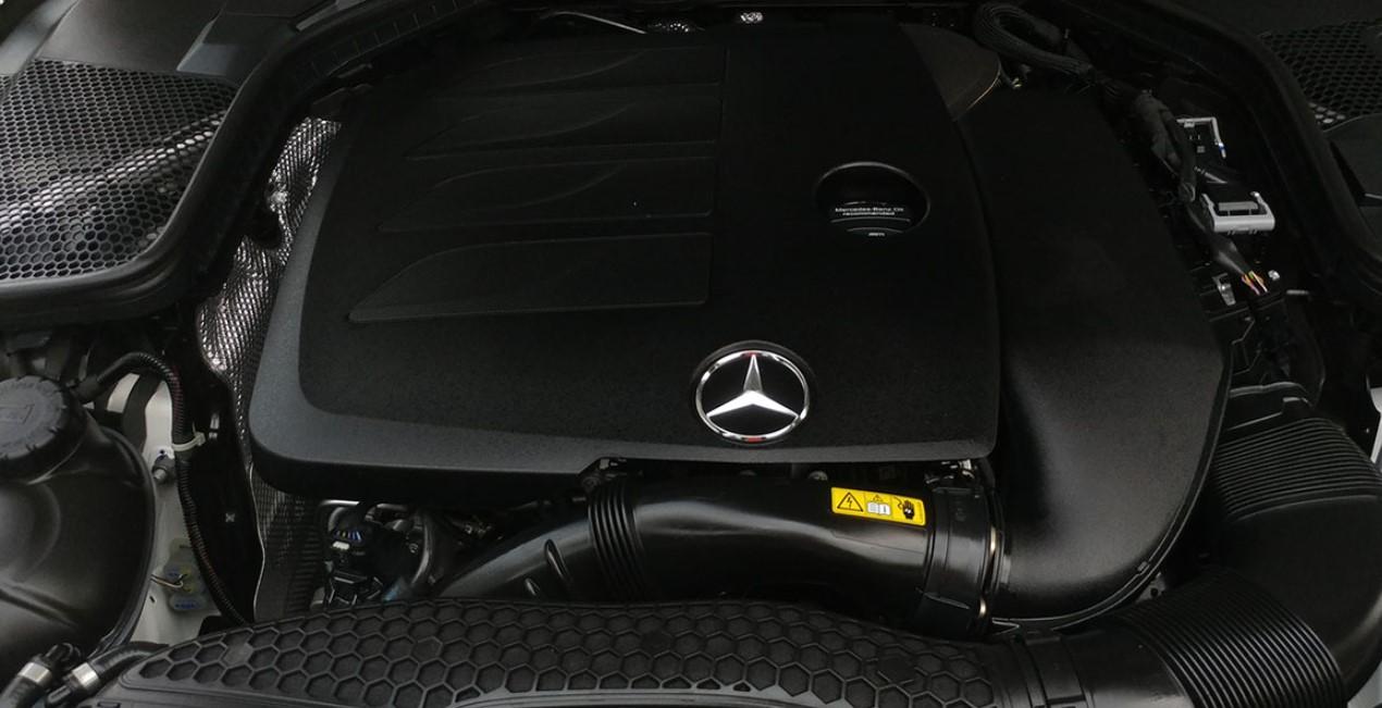 2021 Mercedes Benz C Class Engine
