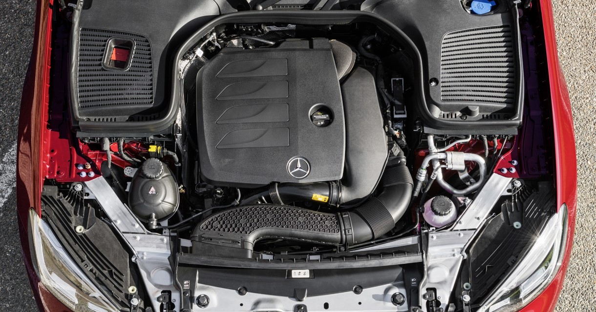2021 Mercedes Benz GLC 300 Engine