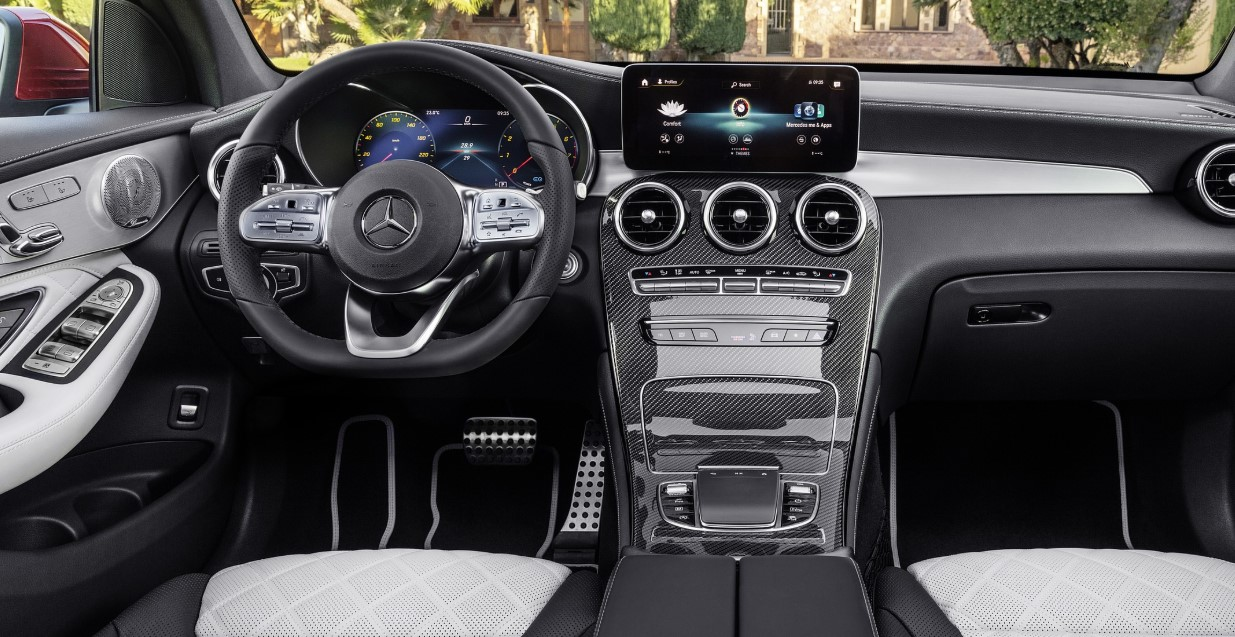 2021 Mercedes Benz GLC 300 Interior
