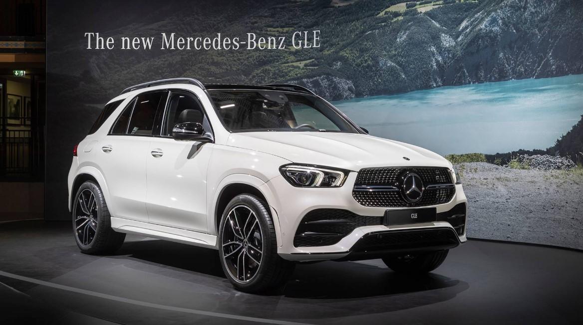 2021 Mercedes Benz GLE Engine